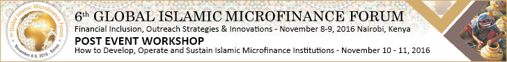 6th Global Islamic Microfinance Forum 2016
